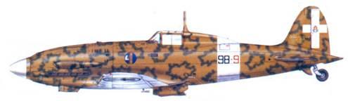 С.202 серженте мажжиоре Вальтера Омиччиоли, апрель 1943г.