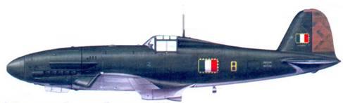 G.55 капитано Джованни Бонет, март 1944г.