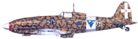 С.202 майора Луиджи Филиппи, Тунис, январь 1943г.