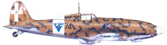 С.202 тененте Джорджио Солароли, январь 1943г.