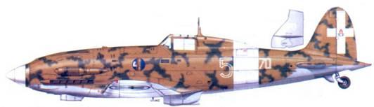 C.202 капитане Клаудио Соларо, январь 1943г.