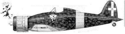 7. С. 200 соттотененте Джузеппе Бирон, 369-я эскадрилья 22 Gruppo Autonomo, Кривой Рог, сентябрь 1941г.