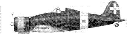 8. С.200 командира 21 Gruppo Autonomo майора Этторе Фосчини, Сталино, май 1942г.