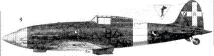 9. С.202 серии II ММ7712 соттотененте Джакопо Фригерио, 97-я эскадрилья.