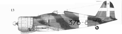 13. G. 50 bis серженте мажжоре Альдо Буволи, 378-я эскадрилья 155 Gruppo Autonomo, Кастелъ Бенито, 9 июля 1941г.