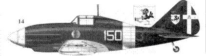 14. Re.2001 тененте Агостиньо Челентано, 150-я эскадрилья 2 Gruppo Autonomo, Сан-Пьетро ди Кальтагрионе, май 1942г.