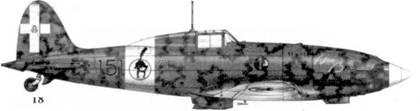 18. С.202 серии VII ММ9066 маресчиало Эннио Тарантолы, 151-я эскадрилья 20 Gruppo 51 Stormo, Гела, сентябрь 1942г.