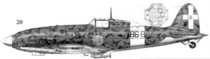 20. С.202 серии I ММ7944 тененте Адриано Висконти, 86-я эскадрилья 7 Gruppo 4 Stormo, Пантеллерия, май 1942г.