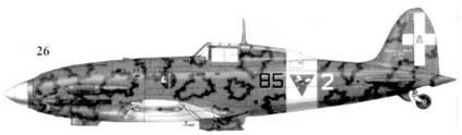 26. С. 202 серии III серженте мажжоре Луиджи Горрини, 85-я эскадрилья, 18 Gruppo 3 Stormo, Тунис, январь 1943г.