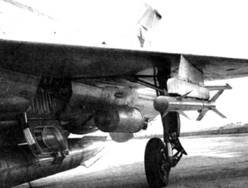 Р-ЗС на опытном истребителе Е-6Т