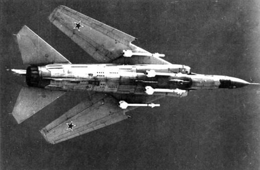 Ракеты Р-ЗС на МиГ-23М