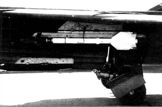 Р-13М1 под крылом истребителя МиГ-23МЛД