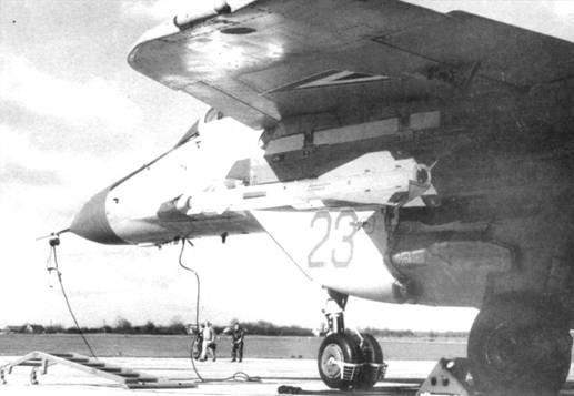 Венгерский истребитель МиГ-29, вооруженный Р-60М