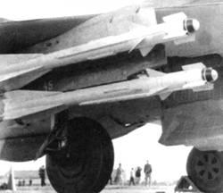 «Спарка» ракет Р-60М на МиГ-21 бис