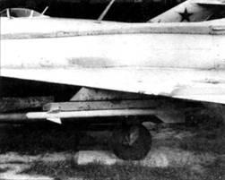 Макет Р-ЗС на МиГ-21Ф-13