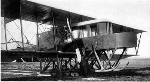 Первый многомоторный самолёт
