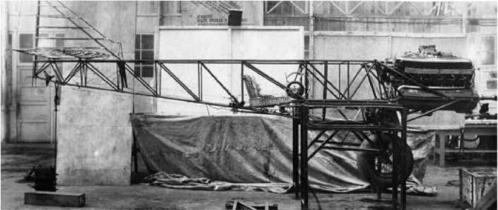 Сборка самолета «Сталь-6».