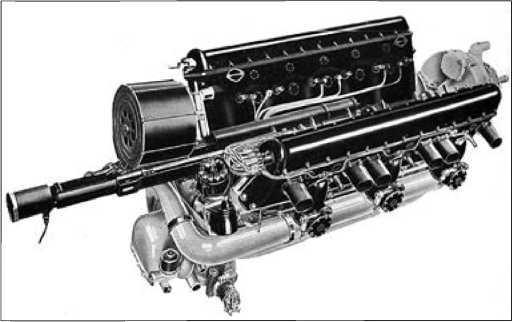 Мотор-пушка фирмы «Испано-Сюиза».