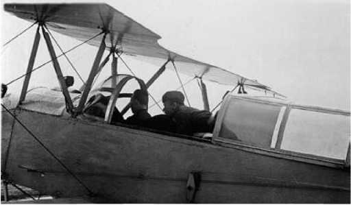 Экспериментальный У-2 перед полётом.