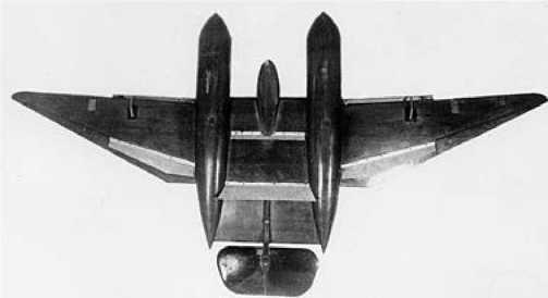 Продувочная модель нового варианта ДБ-ЛК.