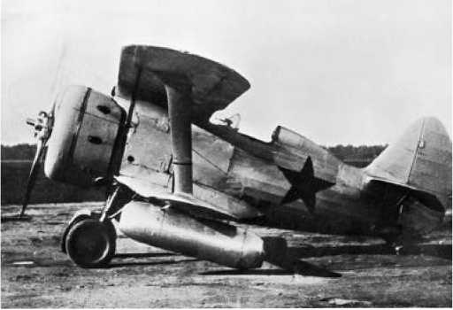 И-153 с двигателями ДМ-4.