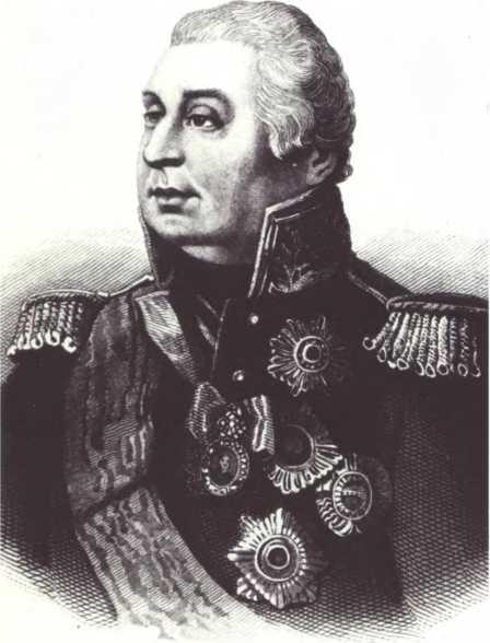 М.И. Кутузов. Худ. П. Борель.