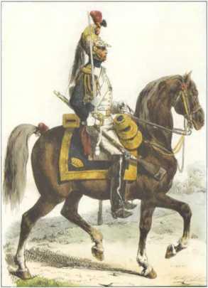 Французский драгун. 1812г.