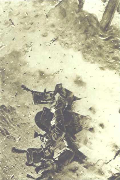 «Сквозь пожар (Наполеон в горящей Москве)». Худ. В.В. Верещагин.