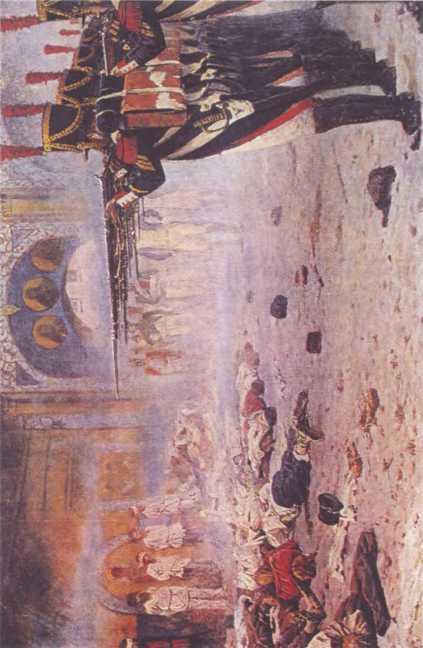 «Расстрел поджигателей». Худ. В.В. Верещагин.