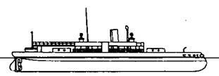 """Монитор """"Арминиус"""" (Нвружный вид. 1888 г.)"""