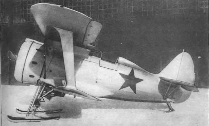 Поликарпов И-153 «Чайка»