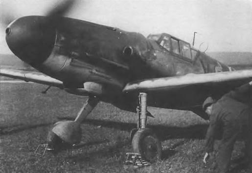Мессершмитт Bf 1 09G-6