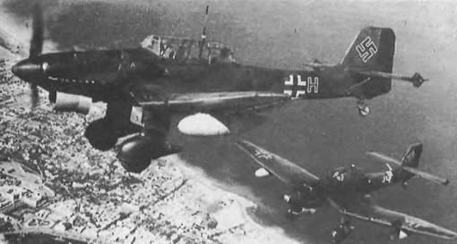 Юнкерс Ju 87В