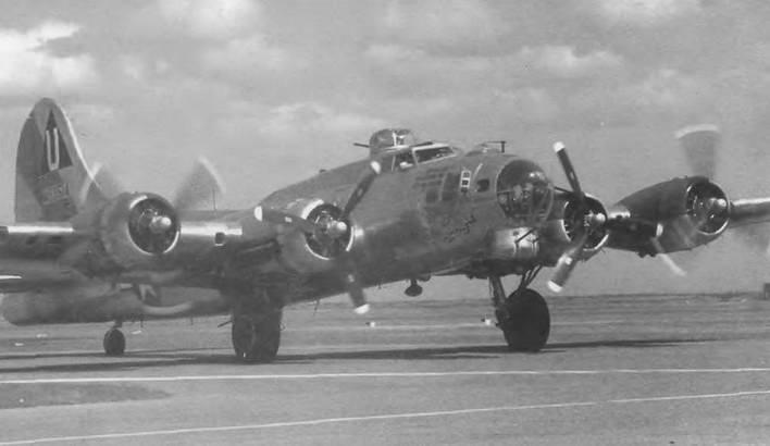 Боинг В-1 7 «Летающая крепость»
