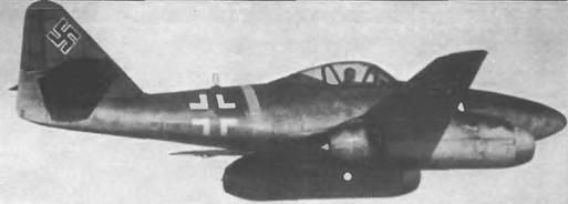 Мессершмитт Me 262А-1А «Швальбе»
