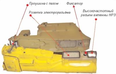 Рис.60. Устройство стыковки пускового механизма с пусковой трубой