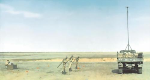 Рис.70. Тренировка стрелков-зенитчиков на УПТ 9Ф635