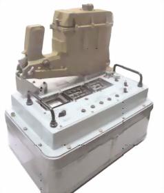 Рис.79. Прибор контроля с подстыкованным механизмом учебным