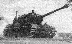"""122-мм орудие Д-25 с дульным тормозом """"немецкого типа"""". 1943 г."""