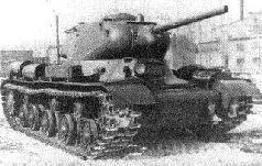 """Продольный разрез танка ИС-1 (""""Объект 233""""). Лето 1943 г."""