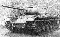 "Танк КВ-85 (""Объект 239"") с 85-мм пушкой Д-5Т. Лето 1943 г."