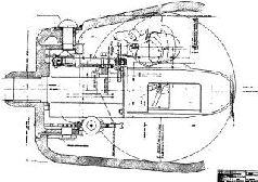 85-мм орудие ЛБ-1 в увеличенной башне танка Т-34 на испытаниях. 1943 г.