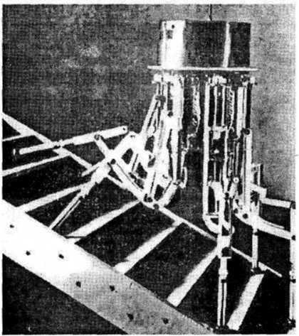 «Одекс» — экспериментальная шагающая платформа
