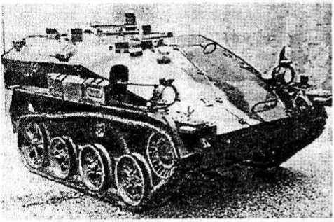 Опытная американская разработка танка-робота