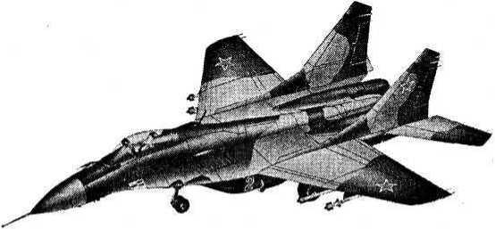Истребитель МиГ-33