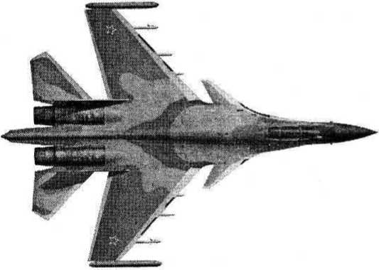 Истребитель Су-37