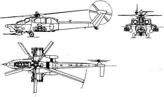 Боевой вертолет Ми-28 и его модификация Ми-28Н