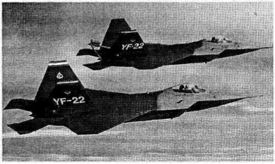 Тактический истребитель F-22A