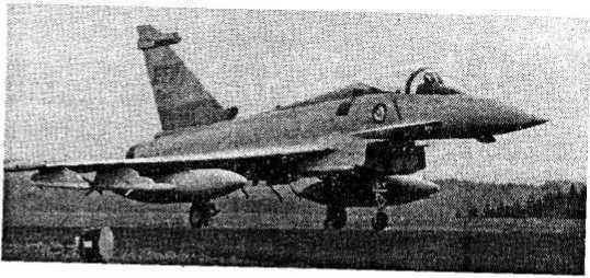 Истребитель «Еврофайтер» 2000