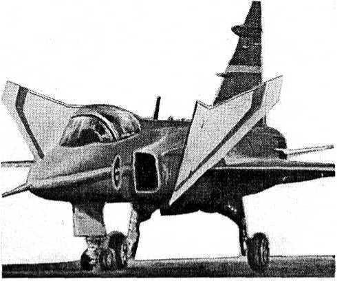 Тактический истребитель JAS-39 «Грипен»